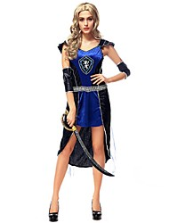 Women Roman Warrior Costume Fancy Dress Halloween Costumes for Women Carnival Costume Party Dress