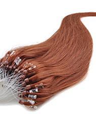 bucle micro extensiones de cabello humano cabelo Humano 0.5g / s micro anillos de cabello humano extensiones 100s / extensiones de cabello