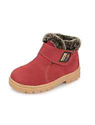 Girl's Boots Others Leather Casual Black / Green / Red
