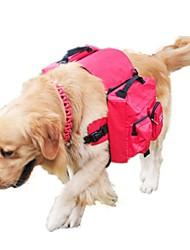 Cachorro Pacote de cão Animais de Estimação Transportadores Portátil Vermelho Preto Verde Azul Rosa Nailom