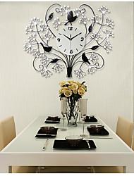 Moderne/Contemporain Niches Horloge murale,Autres Acrylique / Verre / Métal 70*56cm Intérieur Horloge