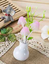 Birthday Party Favors & Gifts-1Piece/Set LED Lights Plastic Garden Theme Cylinder Personalized White