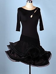 Costumes de Cosplay Plus de costumes Fête / Célébration Déguisement Halloween Rouge / Violet / Noir / Bleu / Noir & rouge Léopard Robe
