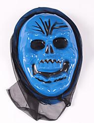 (Padrão é aleatório) 1pc máscara de Halloween ornamentos festival