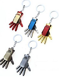 Iron Man Key Button Palm Key Ring Auto Parts