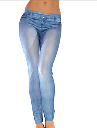 Women Solid Color / Print / Denim LeggingPolyester/hot sale/brand fashion/high quality