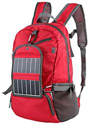 30L L Randonnée pack / sac à dos / Sac à Dos de Randonnée Camping & Randonnée / Escalade Extérieur Vestimentaire / Panneau Solaire Rouge