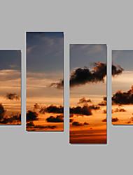 Canvas Set Landscape Modern,Four Panels Canvas Any Shape Print Wall Decor For Home Decoration
