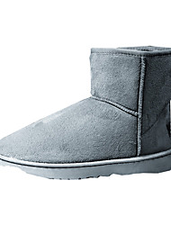 Men's Boots Fall / Winter Snow Boots / Comfort Canvas Casual Flat Heel  Black / Blue / Brown / Red / Gray