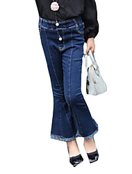 Girl's Casual/Daily Solid JeansOthers Spring / Fall Blue