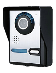 Color Video Intercom Doorbell Night Rain