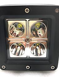 2pcs mais novo 16w led cree trabalho lâmpada IP68 conduziu a lâmpada de trabalho ATV suv 4x4 conduziu a lâmpada de trabalho