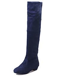 Для женщин Ботинки Удобная обувь Армейские ботинки Полиуретан Осень Повседневные Для прогулок Удобная обувь Армейские ботинки РюшиНа