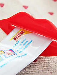 Зубная паста распределитель зубной пасты партнер губы экструдер Многоцелевой выдавливание устройство для зубной пасты (случайные цвета)