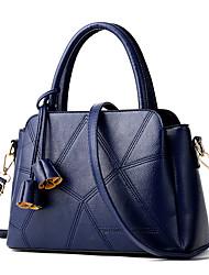 M.Plus Women Fashion PU/Faux Leather Messenger/Shoulder Crossbody Bag/Handbag Tote