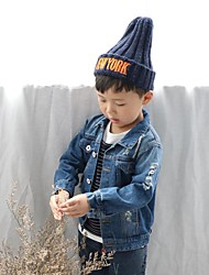 Boy's Casual/Daily Solid JeansCotton Winter / Fall Black / Blue