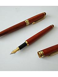 Caneta Caneta Canetas Caneta,Madeira Barril Preto cores de tinta For material escolar Material de escritório Pack of