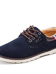 Herren Schuhe Nubukleder Frühling Sommer Herbst Winter Modische Stiefel Sneakers Walking Kombination Für Normal Schwarz Braun Blau