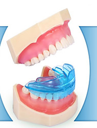 Adult Invisible Orthodontic Braces Retainer Night Wear Fang Set  Security Tasteless  Color Random 1Pcs