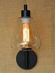 ac 110-130 / ac 220-240 recurso revestimento 40 e26 / e27 rústico / lodge / país óxido de preto para conduziu / balanço do braço / lâmpada