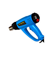 Digital Intelligent Hot Air Gun 2000W Heat Shrink Tubing / Drying Special Working Current 220 Noise Decibel 15