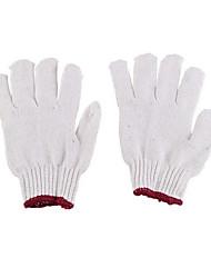 desgaste puro algodón resistente y antideslizante guantes de protección 12 pares acondicionadas para su venta