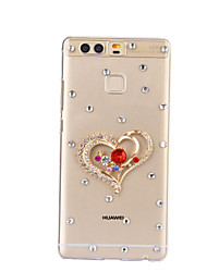 DIY Love Heart Pattern PC Hard Case for Huawei P9 Plus LITE P8 LITE Honor 8 7 6 6Plus 5C 5X 4X 4C 4A Mate 9 8 7