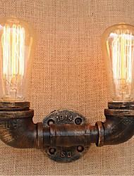 AC 220V-240V 40w e27 saudade bg804-2 tubulação de água simples luz decorativos de parede lâmpada de parede pequeno