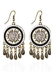 Earring Imitation Opal / Rhinestone Circle Stud Earrings / Drop Earrings Jewelry Women Tassels / Bohemia / CasualAlloy /