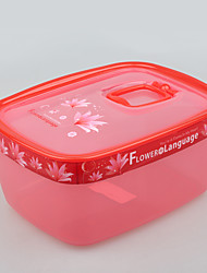 Airtight Microwavable Storage Food Container with Lid 1.7L
