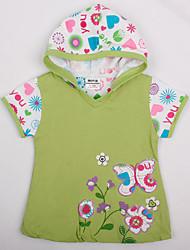 Girl's Dress Baby Princess Dress Party with Flowers Dress for Girls Cartoon Kids Dresses(Random Printed)