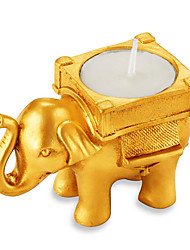 1pcs Creative Thailand Elephant Crafts Aromatherapy Candle Holder - without tealight candle
