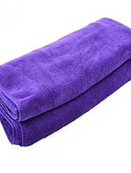 nettoyage serviette eau chiffon lavage de cheveux spéciaux sablées serviettes de lavage de voiture 140 * 70 serviettes