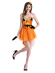 Halloween Pumpkins Role-Playing Parties Under Cosplay Party Exhibition Stage Performance Clothing