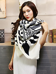 Women Cotton / Linen Scarf,Casual Rectangle