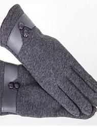 теплый сенсорный экран перчатки (серый)