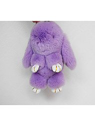 Mink Rabbit Rex Rabbit Small Rabbit Pendant Car Key Holder Bag Ornaments