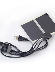 réptil aquecimento tartaruga mat pad termostato impermeável almofada de aquecimento 5W de energia segura