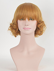 New Arrival European Style Short Brown Wig Bob Wig Heat Resistant Synthetic Wigs