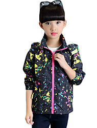 Girl's Sports Solid Suit & BlazerCotton Spring / Fall Black / Red