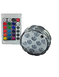 1PCS Waterproof LED Pattern Diving Light SMD5050  RGB Multicolor