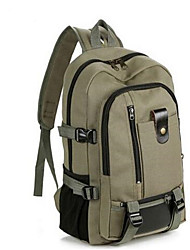 Men School Bag PU Casual Outdoor Black Brown Army Green