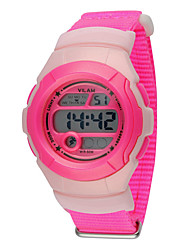 Kids' Sport Watch / Wrist watch Digital LCD / Calendar / Water Resistant/Water Proof / Stopwatch Plastic BandCartoon / Sparkle / Dot /