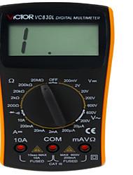 VC830L Digital Pocket Watch