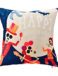 1 pcs Polyester  Halloween Prints Accent/Decorative Pillow With Insert 18x18 inch