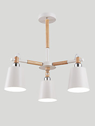 40w Flush Mount ,  Modern/Contemporary / Country Painting Feature for Designers MetalLiving Room / Bedroom / Dining Room / Study