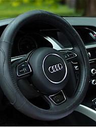 antiderrapante anti-transpiração couro de oito caracteres cobertura de volante com o suor stomatal