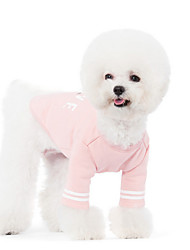 Hunde Pullover Gelb Hundekleidung Winter Frühling/Herbst einfarbig Niedlich Lässig/Alltäglich
