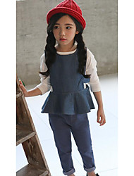 Girls' Casual/Daily Solid Vest,Cotton Fall