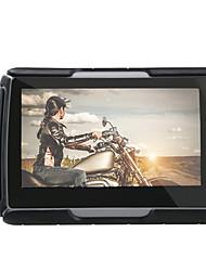 4,3 pulgadas de navegación GPS GPS motocicleta del coche resistente al agua IPX7 8gb bluetooth memroy interna bt con mapas de alta calidad